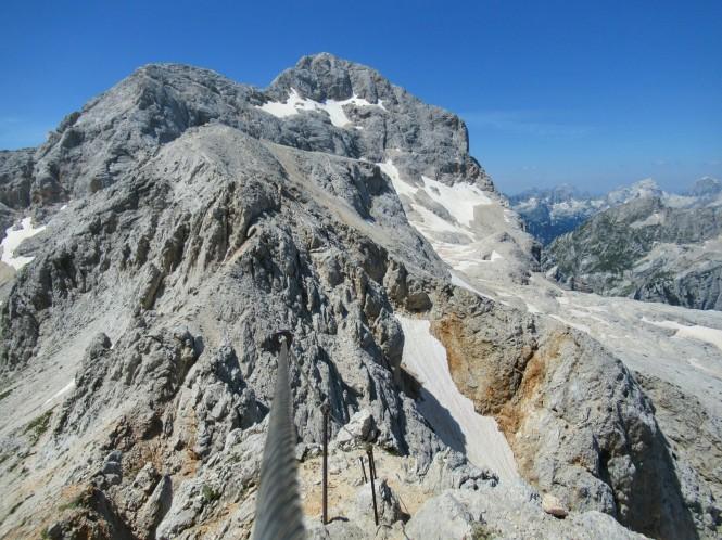 2018-07-eslovenia-alpes-julianos-triglav-etapa-3-22-hacia-Dom-Valentina-Stanica-Pod-Triglavom-cable