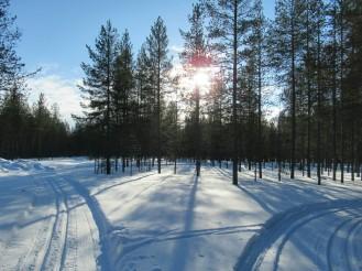Esquí en Hossa - Día 1 - Hossanlahti