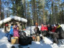 Esquí en Martinselkonen - Día 4 - Teerilampi