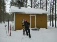 Esquí en Martinselkonen - Día 5 - Lintulampi Autiotupa