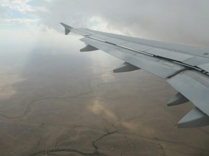 Volando sobre Jordania