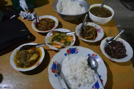 Comida en Shwebo