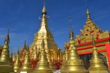 Indawgyi - Shwe Myitzu Pagoda