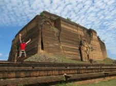 Mingun - Pahtodawgyi Pagoda