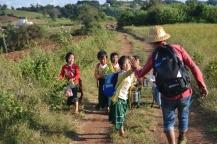 Trekking de Kalaw a Inle - Poblados