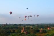 Bagan desde las alturas