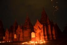 Bagan - Templo Nocturno