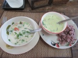 Sopa y Curry